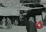Image of Bazaars in Moslem countries Middle East, 1936, second 33 stock footage video 65675072702