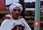 Image of palace guards Tunis Tunisia, 1959, second 48 stock footage video 65675072708