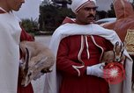 Image of palace guards Tunis Tunisia, 1959, second 12 stock footage video 65675072709