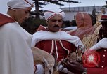 Image of palace guards Tunis Tunisia, 1959, second 20 stock footage video 65675072709