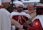 Image of palace guards Tunis Tunisia, 1959, second 21 stock footage video 65675072709