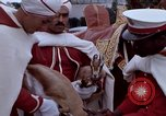 Image of palace guards Tunis Tunisia, 1959, second 22 stock footage video 65675072709