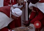 Image of palace guards Tunis Tunisia, 1959, second 23 stock footage video 65675072709