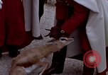 Image of palace guards Tunis Tunisia, 1959, second 25 stock footage video 65675072709
