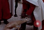 Image of palace guards Tunis Tunisia, 1959, second 26 stock footage video 65675072709