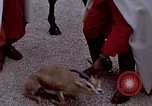 Image of palace guards Tunis Tunisia, 1959, second 30 stock footage video 65675072709