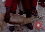 Image of palace guards Tunis Tunisia, 1959, second 35 stock footage video 65675072709