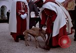 Image of palace guards Tunis Tunisia, 1959, second 49 stock footage video 65675072709