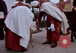 Image of palace guards Tunis Tunisia, 1959, second 51 stock footage video 65675072709