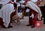 Image of palace guards Tunis Tunisia, 1959, second 52 stock footage video 65675072709