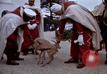 Image of palace guards Tunis Tunisia, 1959, second 56 stock footage video 65675072709
