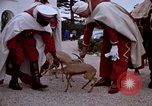Image of palace guards Tunis Tunisia, 1959, second 57 stock footage video 65675072709
