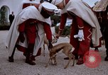 Image of palace guards Tunis Tunisia, 1959, second 58 stock footage video 65675072709