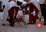 Image of palace guards Tunis Tunisia, 1959, second 59 stock footage video 65675072709