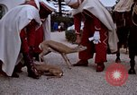Image of palace guards Tunis Tunisia, 1959, second 60 stock footage video 65675072709