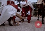Image of palace guards Tunis Tunisia, 1959, second 62 stock footage video 65675072709