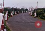 Image of palace guards Tunis Tunisia, 1959, second 31 stock footage video 65675072713