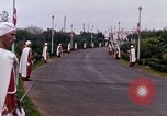 Image of palace guards Tunis Tunisia, 1959, second 32 stock footage video 65675072713