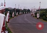 Image of palace guards Tunis Tunisia, 1959, second 34 stock footage video 65675072713