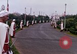 Image of palace guards Tunis Tunisia, 1959, second 35 stock footage video 65675072713