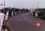 Image of palace guards Tunis Tunisia, 1959, second 36 stock footage video 65675072713