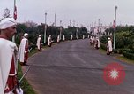 Image of palace guards Tunis Tunisia, 1959, second 38 stock footage video 65675072713