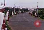 Image of palace guards Tunis Tunisia, 1959, second 39 stock footage video 65675072713