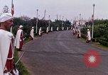 Image of palace guards Tunis Tunisia, 1959, second 40 stock footage video 65675072713