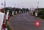 Image of palace guards Tunis Tunisia, 1959, second 41 stock footage video 65675072713