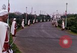 Image of palace guards Tunis Tunisia, 1959, second 42 stock footage video 65675072713