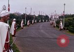 Image of palace guards Tunis Tunisia, 1959, second 46 stock footage video 65675072713