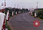Image of palace guards Tunis Tunisia, 1959, second 47 stock footage video 65675072713