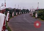 Image of palace guards Tunis Tunisia, 1959, second 48 stock footage video 65675072713