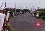 Image of palace guards Tunis Tunisia, 1959, second 49 stock footage video 65675072713