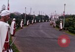 Image of palace guards Tunis Tunisia, 1959, second 50 stock footage video 65675072713