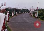 Image of palace guards Tunis Tunisia, 1959, second 51 stock footage video 65675072713