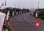 Image of palace guards Tunis Tunisia, 1959, second 53 stock footage video 65675072713