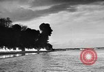 Image of fire wall off English coast to prevent German invasion United Kingdom, 1945, second 38 stock footage video 65675072721
