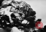 Image of fire wall off English coast to prevent German invasion United Kingdom, 1945, second 56 stock footage video 65675072721