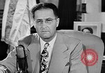 Image of Clinton Anderson United States USA, 1945, second 6 stock footage video 65675072724
