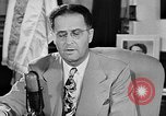 Image of Clinton Anderson United States USA, 1945, second 7 stock footage video 65675072724