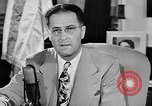 Image of Clinton Anderson United States USA, 1945, second 10 stock footage video 65675072724