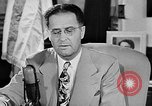 Image of Clinton Anderson United States USA, 1945, second 12 stock footage video 65675072724