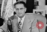 Image of Clinton Anderson United States USA, 1945, second 13 stock footage video 65675072724