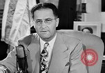 Image of Clinton Anderson United States USA, 1945, second 14 stock footage video 65675072724