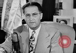 Image of Clinton Anderson United States USA, 1945, second 19 stock footage video 65675072724