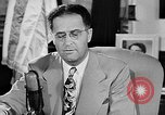 Image of Clinton Anderson United States USA, 1945, second 20 stock footage video 65675072724