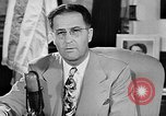 Image of Clinton Anderson United States USA, 1945, second 21 stock footage video 65675072724