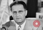 Image of Clinton Anderson United States USA, 1945, second 30 stock footage video 65675072724