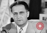 Image of Clinton Anderson United States USA, 1945, second 37 stock footage video 65675072724